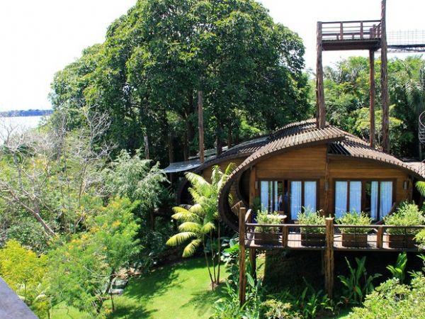 Hotel de luxo usa energia solar e madeira de reflorestamento na selva ::  Notícias do Agronegócio - AgroOlhar
